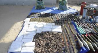 Large Cache Of Arms Seized From Boko Haram Terrorists In Cameroon