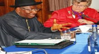Jonathan Blames Media For Negative Perception About Boko Haram