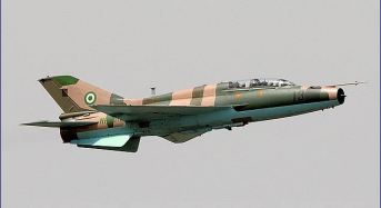 Nigerian Air Force Carries Out Air Strikes Over Sambisa Forest
