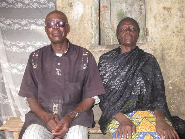 Ayuba's parents, Ijai and Hauwa Ijarafu, have not seen their son for about a year, having been allegedly held hostage first by Boko Haram and later the military