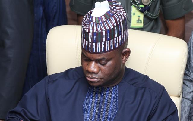 Governor Yahaya Bello
