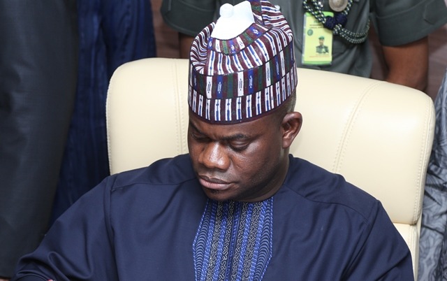 Governor Yahaya Bello