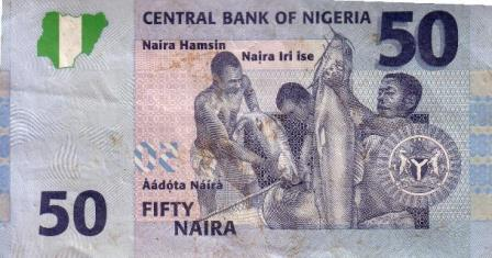 Fifty Naira Note