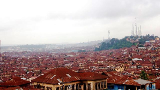 Oke Are in Ibadan. Pix by Hamed Adedeji
