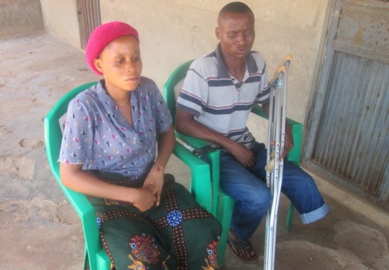 Nwibani and wife, Joy