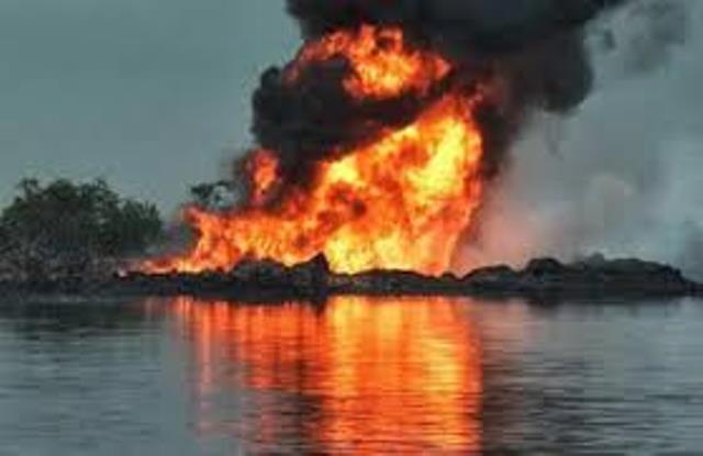 Pipeline bombing......