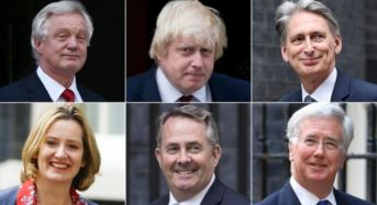 Theresa May Unveils New Cabinet