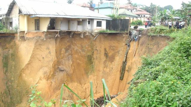Impact of erosion in Calabar South