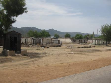 Civilians are yet to return to some parts of Gwoza