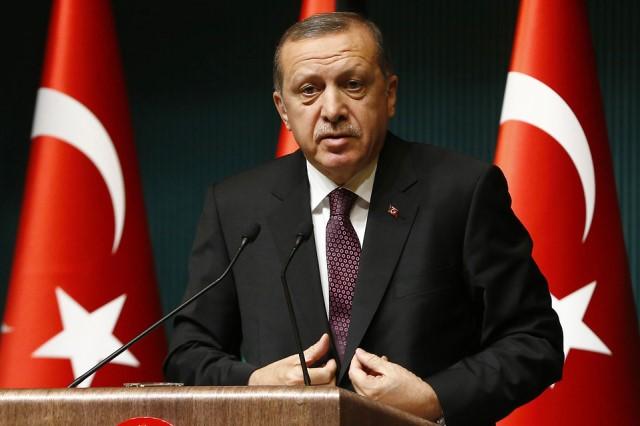 Turkish President, Recep Tayyip Erdogan