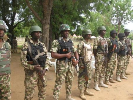 AK 47 is the Nigerian Army's standard issued weapon