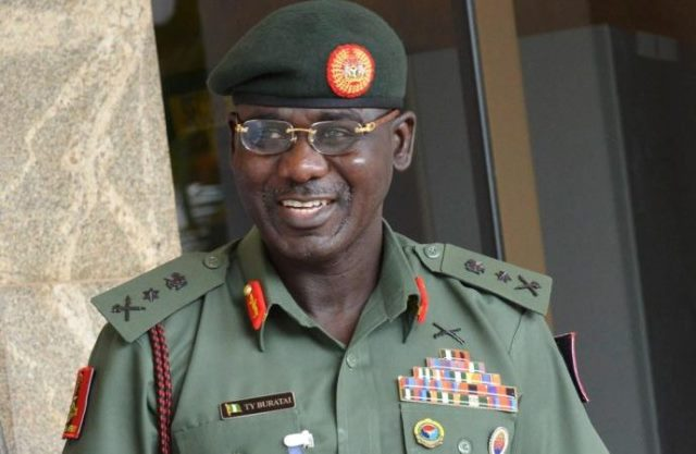 Chief of Army Staff, Lt. Gen. Tukur Buratai