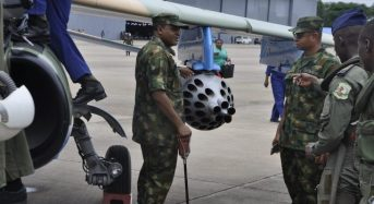 NAF Bombs Another Boko Haram Camp