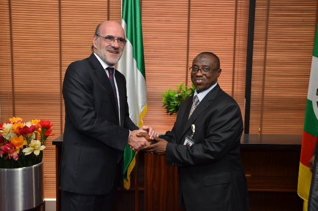 NNPC GMD, and Spanish Ambassador to Nigeria