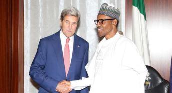 John Kerry In Closed Door Meeting With Buhari