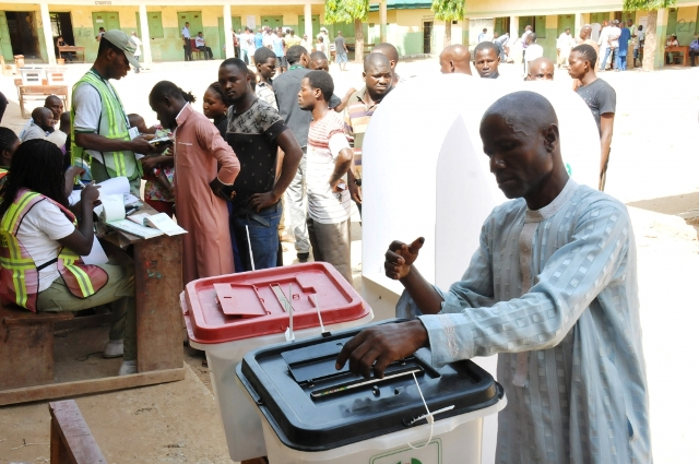 Image result for eDO GOVERNORSHIP ELECTION VOTING