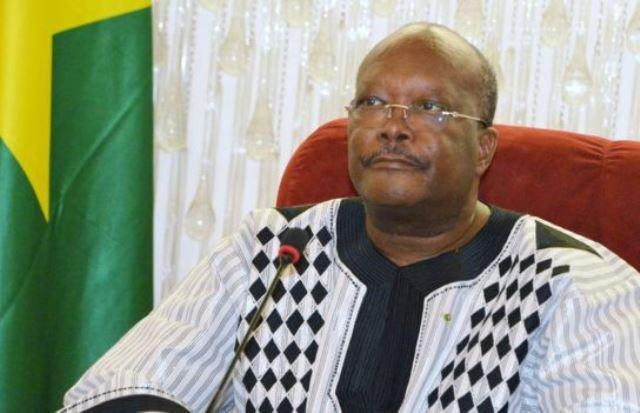 President of Burkina Faso Roch Marc-Kaboré