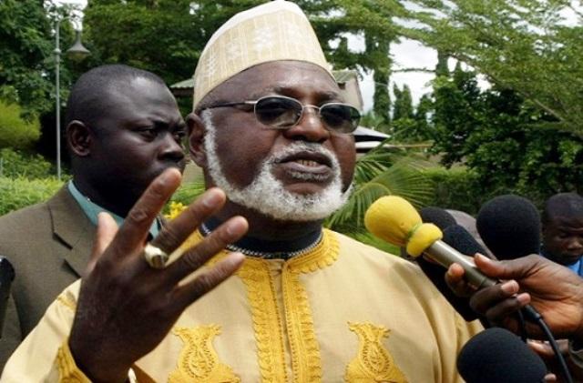 Former Military Head of State, Abdulsalami Abubakar