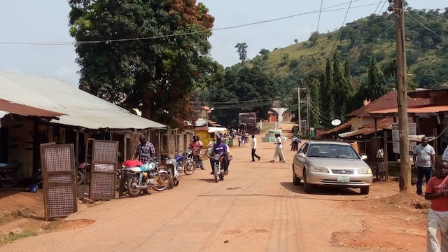 A street in Kwoi