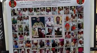 Military Releases List Of 55 Wanted Terrorists