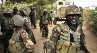 Army Commences Road Construction In Sambisa Forest