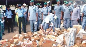 Customs Seizes Cooked Nigerian Food Imported From India