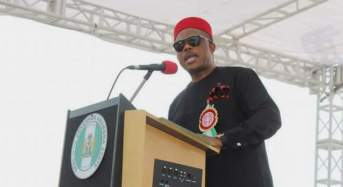 Anambra State Governor Commits To One Nigeria