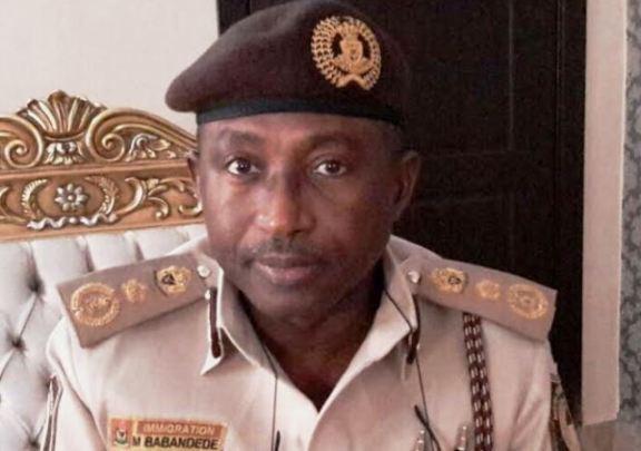 Comptroller General of NIS, Mohammed Babandede