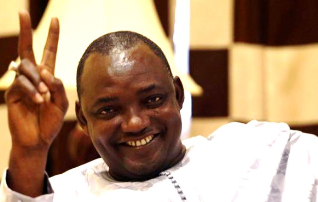 The Gambia's President-elect, Adama Barrow