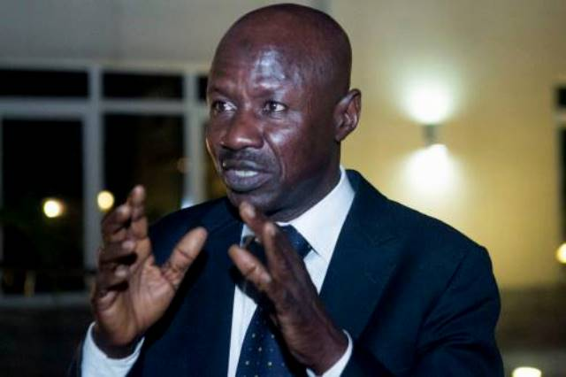 Acting Chairman of the EFCC, Ibrahim Magu