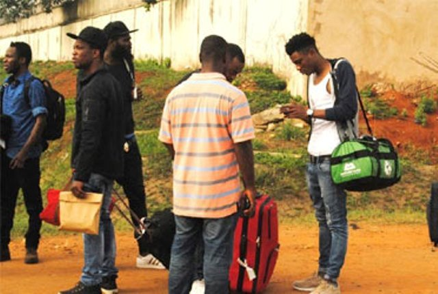 50 Nigerians Deported From 8 European Countries1