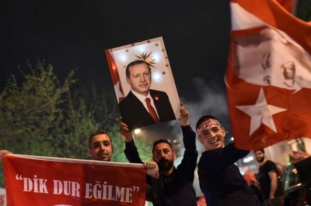 Celebration, Protest Greets Turkey's Referendum Result