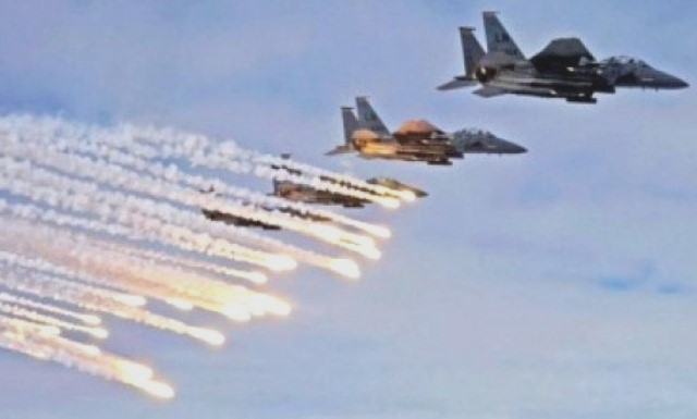 Chemical 'Attack' US Launches Attacks On Syrian Forces