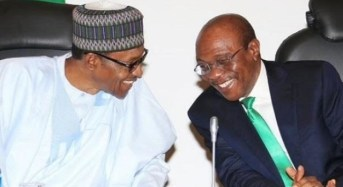 Buhari Meets With CBN Governor