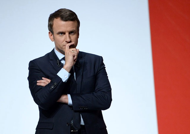 French Presidential Candidate, Emmanuel Macron