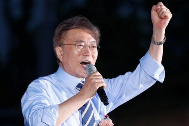 Moon Jae-In is on his way to victory in South Korea's Presidential Election