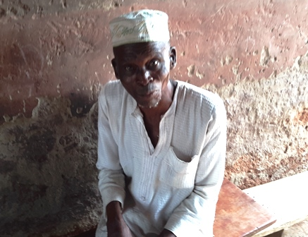 65-year-old Mohammed Alfa says the community insurance scheme has greatly improved his health condition