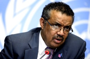 Newly elected Director General of WHO, Tedros Ghebreyesus