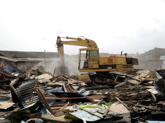 Ambode's bulldozers continue wreaking havoc in Badia East slum community