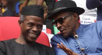 UPDATED: Osinbajo jets off to London to meet with Buhari