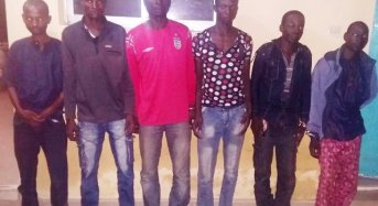 One week after Evans' arrest, Kaduna nabs six highway kidnappers