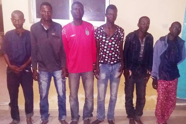 Just one week after Evans, another 6 kidnappers nabbed in Kaduna