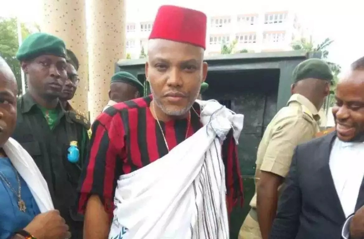 Nnamdi Kanu: Jonathan is my uncle but his wife would have made a better president