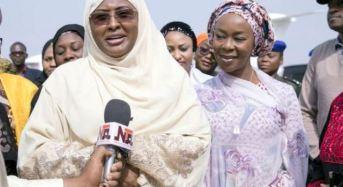 Aisha returns to London to be with Buhari