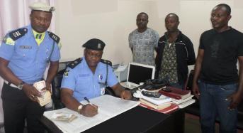 Three policemen lose their jobs because of N200, 000 bribe