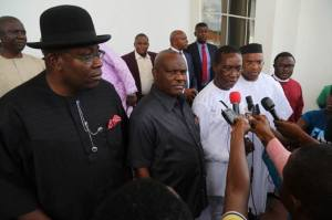 Six PDP governors to visit Buhari in London but Wike, Fayose not included