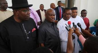 Fayose, Wike excluded as PDP governors prepare to visit Buhari in London