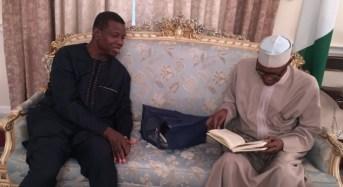 PHOTOS: Adeboye in London to 'pray' for Buhari