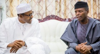 Reuters: Osinbajo can't take decisions without clearance from Buhari or Abba Kyari