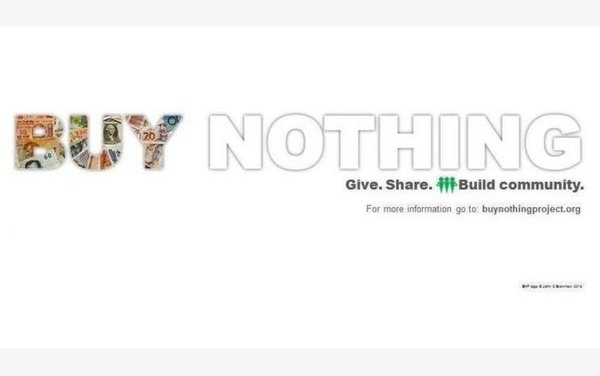 Buy Nothing!